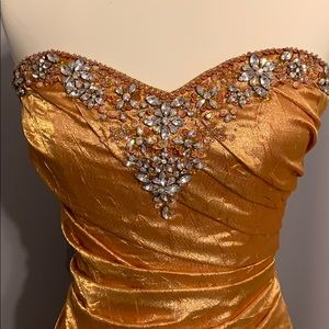 Tiffany Designs Dresses - Beautiful Gold Ball Gown